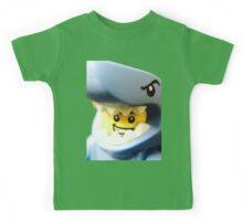 Lego Shark Suit Guy minifigure Kids Tee
