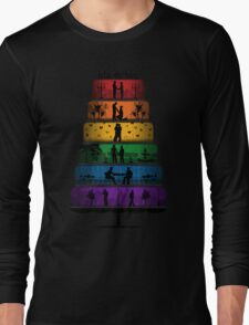 Gay Pride Wedding Cake Long Sleeve T-Shirt