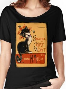 Le Chat Mort Women's Relaxed Fit T-Shirt