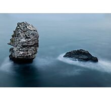 Steamy Ocean Photographic Print