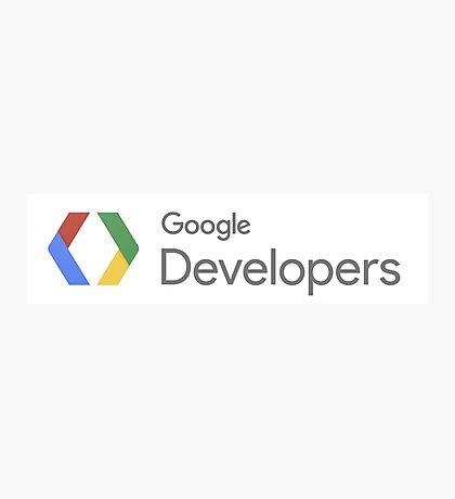 Google Developers Photographic Print