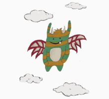 little flying monster Kids Tee