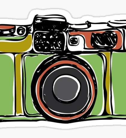 Vintage film camera  Sticker