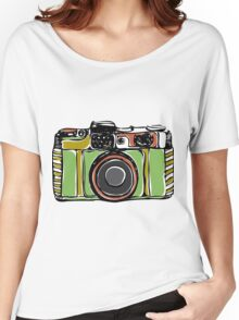 Vintage film camera  Women's Relaxed Fit T-Shirt