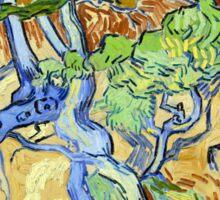 Vincent van Gogh Tree Roots Sticker