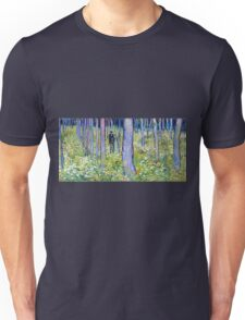 Vincent van Gogh Undergrowth with Two Figures Unisex T-Shirt