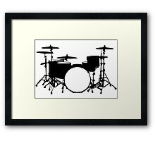 Drum kit  Framed Print