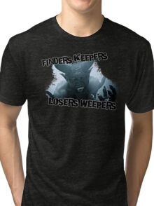 Music: Finders Keepers Tri-blend T-Shirt