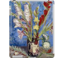 Vincent van Gogh Vase of Gladioli and Chinese Asters iPad Case/Skin