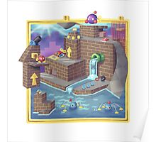 Super Mario 64 Wet Dry World Poster