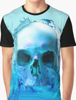 SKULL IN WATER Graphic T-Shirt