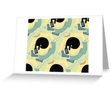 Catwear  Greeting Card