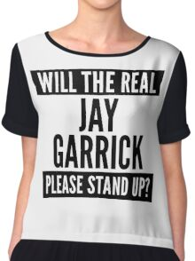 Will The Real Jay Garrick Please Stand Up? Chiffon Top
