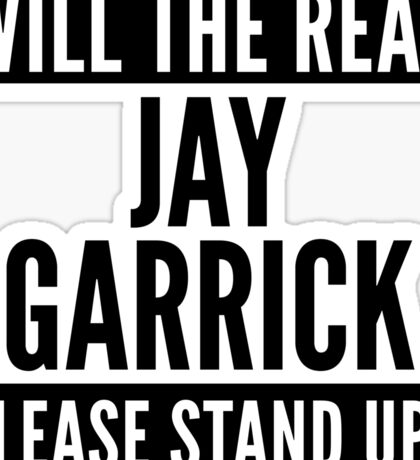 Will The Real Jay Garrick Please Stand Up? Sticker