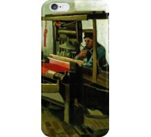 Vincent van Gogh Weaver iPhone Case/Skin