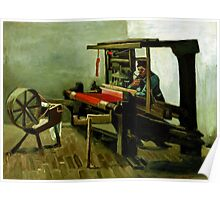 Vincent van Gogh Weaver Poster