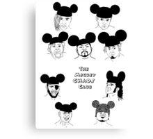 The MickeyCHAOS Club Canvas Print