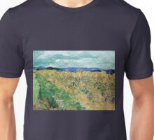 Vincent van Gogh Wheatfield with Cornflowers Unisex T-Shirt