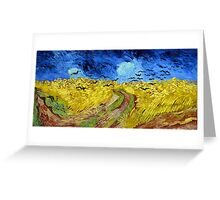 Vincent van Gogh Wheatfield with Crows Greeting Card