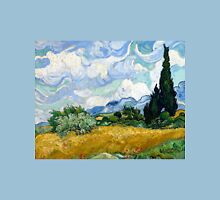 Vincent van Gogh Wheatfield with Cypresses Unisex T-Shirt