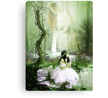 BORN OF WATER Canvas Print