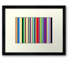 Colour coded Framed Print