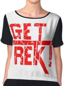 Rekt - ONE:Print Chiffon Top