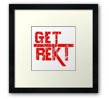 Rekt - ONE:Print Framed Print