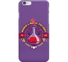 Mario's Magic Potions iPhone Case/Skin