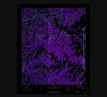 USGS TOPO Map Alabama AL Isbell 304273 1945 24000 Inverted Unisex T-Shirt