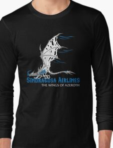 Sindragosa Airlines Long Sleeve T-Shirt