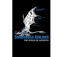 Sindragosa Airlines Photographic Print