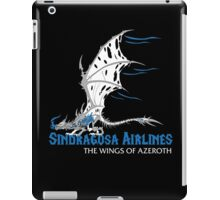 Sindragosa Airlines iPad Case/Skin