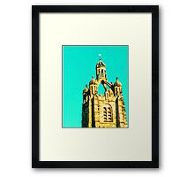 InSpire to Reach Higher Framed Print
