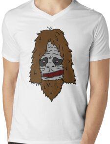 Sassy the Sasquatch - Colour Mens V-Neck T-Shirt