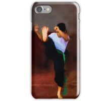 The young fighter iPhone Case/Skin