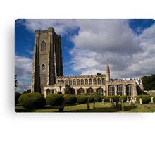 Lavenham Church Canvas Print
