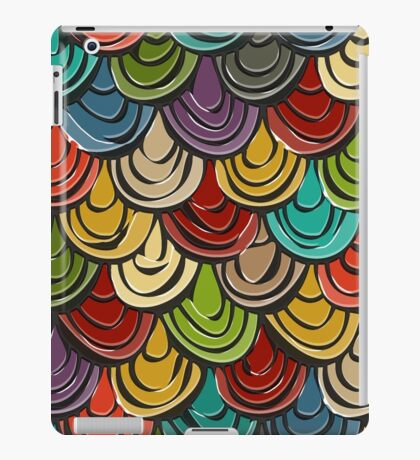 scallop scales iPad Case/Skin