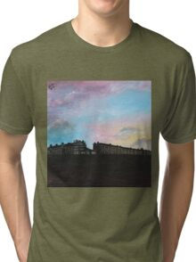 Priory Road at Dusk Tri-blend T-Shirt