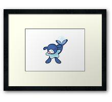 Pokemon - Popplio Framed Print