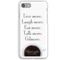 Gilmore Girls: A Year in the Life iPhone Case/Skin
