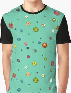 mint pop flower spot Graphic T-Shirt