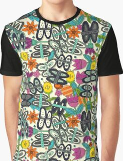 butterfly pop garden Graphic T-Shirt