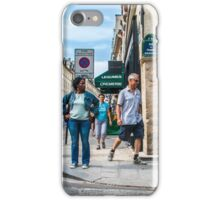 Paris Street Scene iPhone Case/Skin