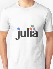 Julia programming language Unisex T-Shirt