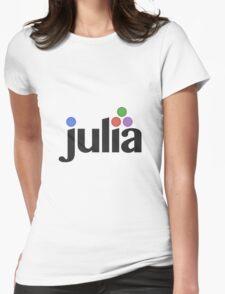 Julia programming language Womens Fitted T-Shirt