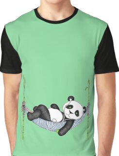 iPod Panda Graphic T-Shirt