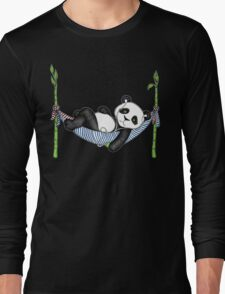 iPod Panda Long Sleeve T-Shirt