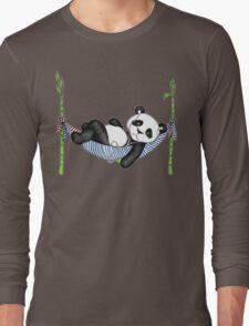 iPod Panda Long Sleeve T-Shirt