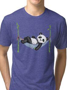 iPod Panda Tri-blend T-Shirt